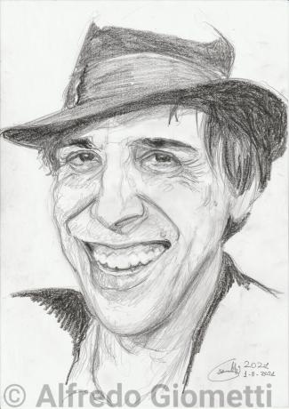 Adriano Celentanoi ritratto portrait