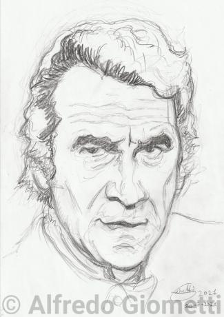 Alberto Lupo ritratto portrait