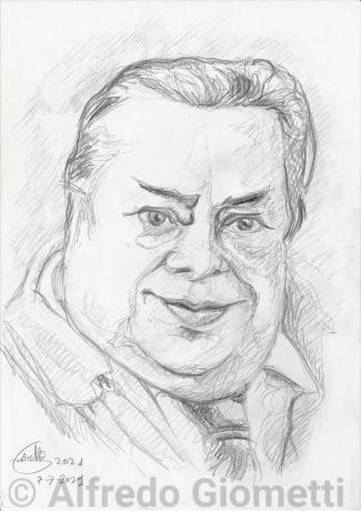 Aldo Fabrizii ritratto portrait