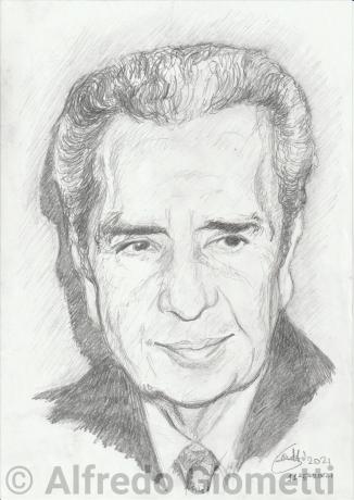 Aldo Moro ritratto portrait