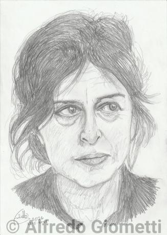 Anna Magnani ritratto portrait