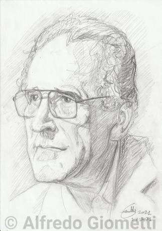 Arnoldo Foa portrait ritratto portrait