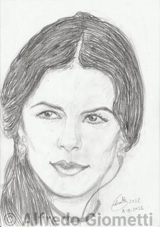 Catherine Zeta Jones ritratto portrait