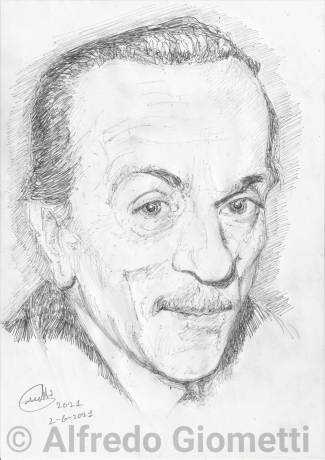Eduardo de Filippo ritratto portrait