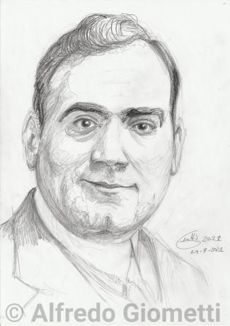 Enrico Caruso ritratto portrait