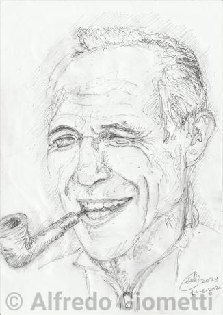 Enzo Bearzot- ritratto portrait