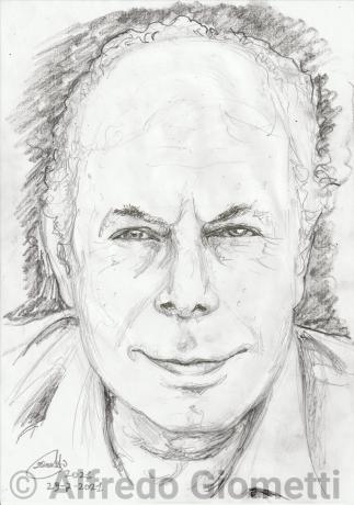 Ernesto Calindri ritratto portrait