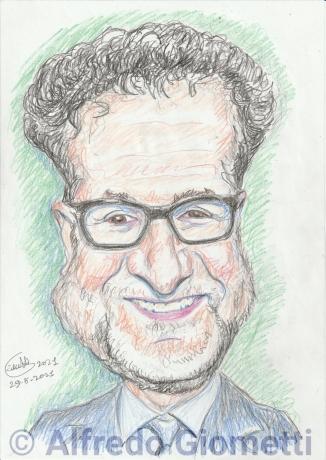 Fabio Fazio caricatura caricature
