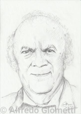 Federico Fellini ritratto portrait