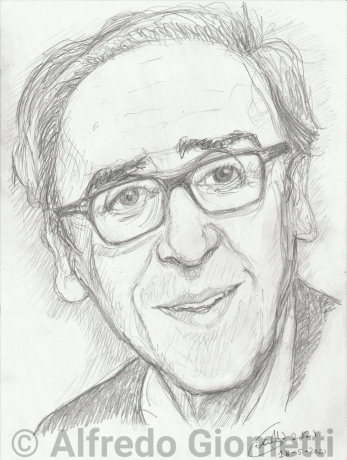 Franco Battiatoi ritratto portrait