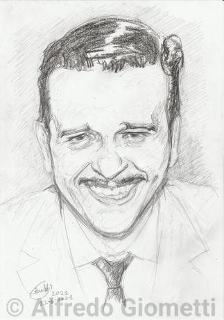 Fred Buscaglione ritratto portrait