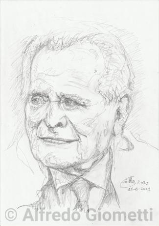 Giampiero Boniperti ritratto portrait