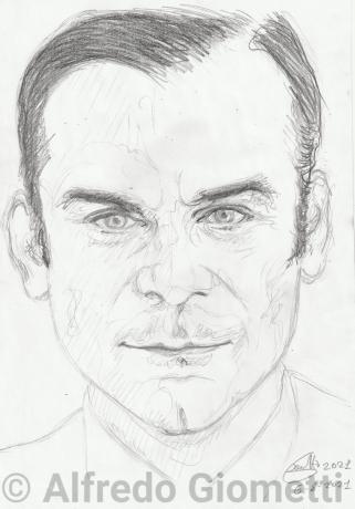 Gian Maria Volont&egravei portrait ritratto portrait