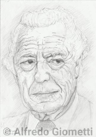 Gianni Agnelli ritratto portrait