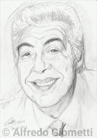 Gino Bramieri ritratto portrait