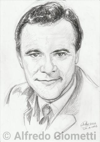 Jack Lemmon ritratto portrait