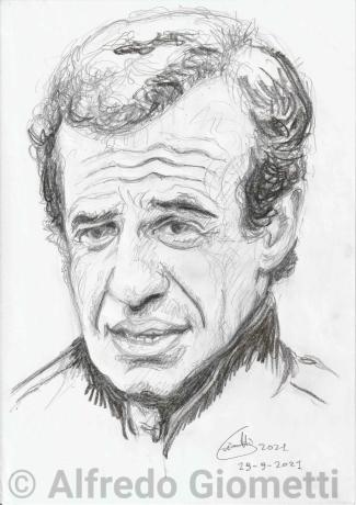Jean-Paul Belmondo ritratto portrait