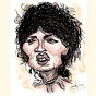 Caricatura di Little Richard - clicca per ingrandire