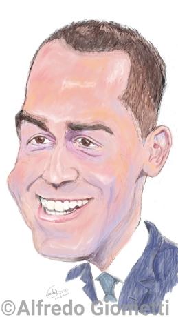 Luigi Di Maio caricatura caricature portrait