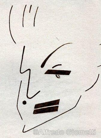 Madonna caricatura caricature portrait