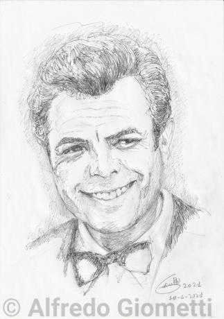 Marcello Mastrianni ritratto portrait
