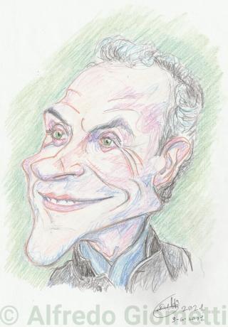 Marco Travaglio caricatura caricature