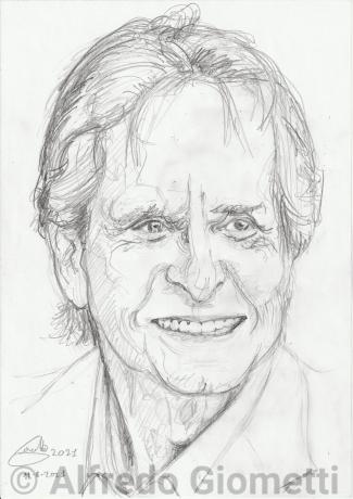 Michael Douglas ritratto caricature portrait