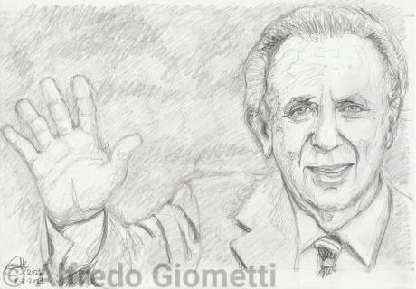Mike Bongiorno ritratto portrait