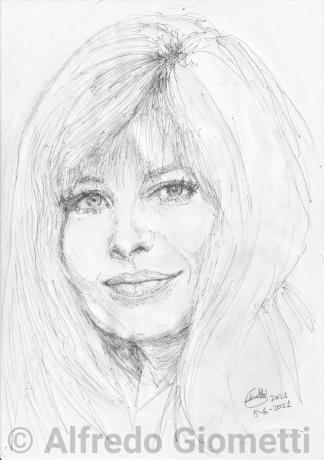 Monica Vitti ritratto portrait