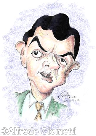 mr.Bean caricatura caricature portrait