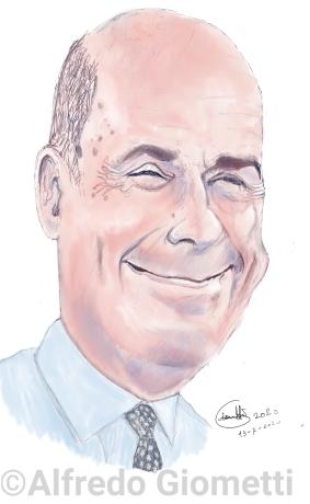 Nicola Zingarettii caricatura caricature portrait