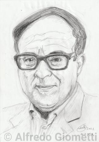 Oreste Lionello portrait ritratto portrait