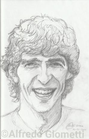 Paolo Rossi ritratto portrait