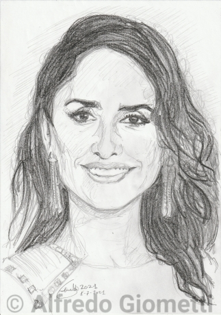 Penelope Cruzi ritratto portrait