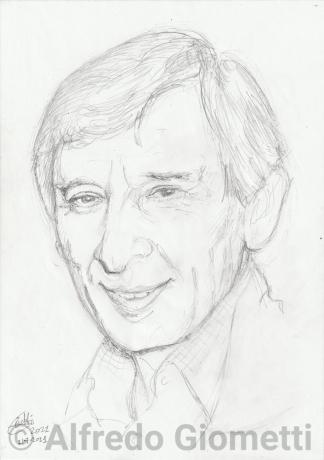 Renato Rascel ritratto portrait