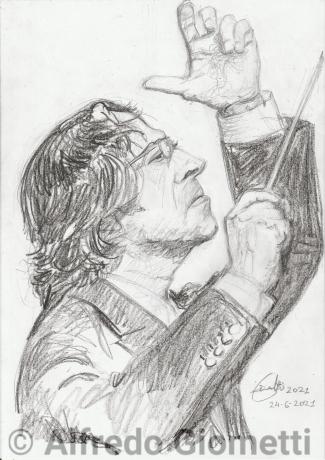 Riccardo Muti ritratto portrait