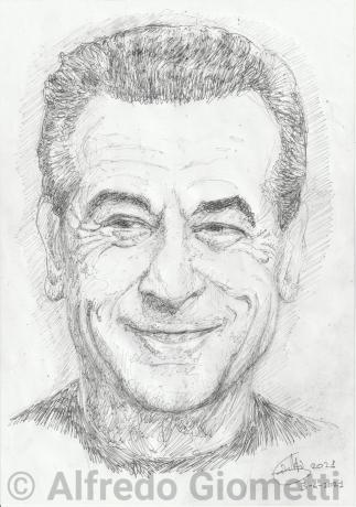 Robert de Niro ritratto portrait