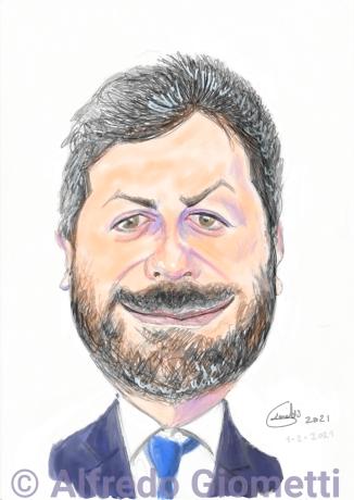 Roberto Ficoi caricatura caricature portrait