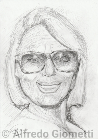 Sandra Mondaini ritratto portrait