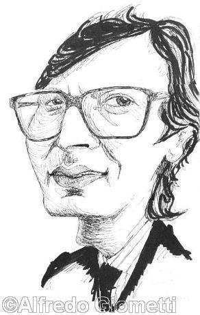Vittorio Sgarbi caricatura caricature portrait