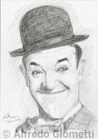 Stan Laureli portrait ritratto portrait