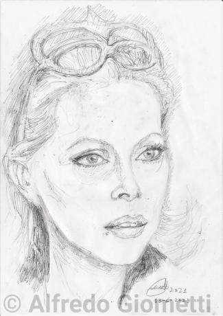 Virna Lisi ritratto portrait