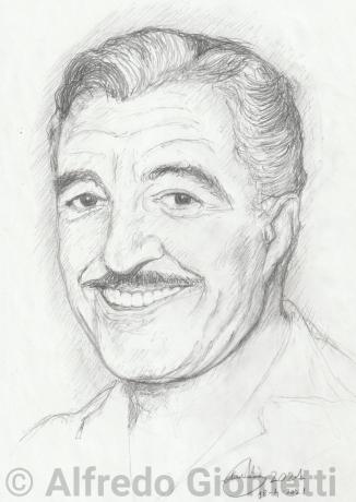 Enrico Berlingueri ritratto portrait