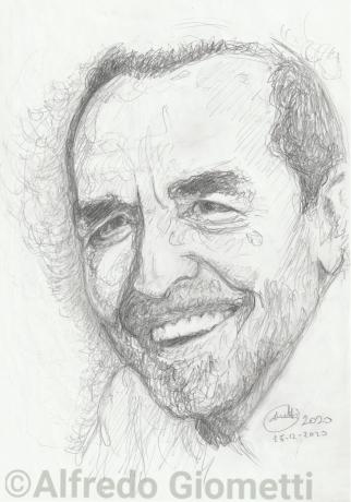 Vittorio Gassman ritratto portrait