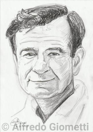 Walter Matthau ritratto portrait